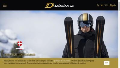Site internet de Promotion Deneriaz