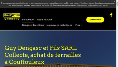 Site internet de SARL Guy Dengasc et Fils