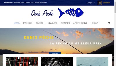 Site internet de Denis Peche