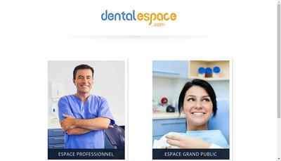 Site internet de Dentalespace