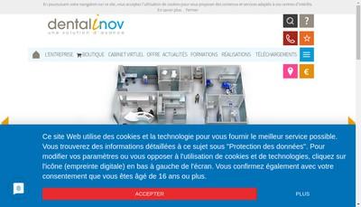 Site internet de Dentalinov