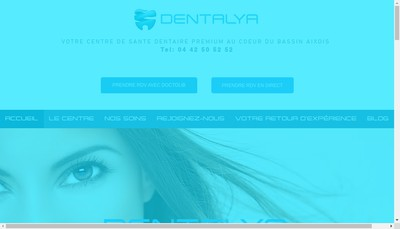 Site internet de Dentalya