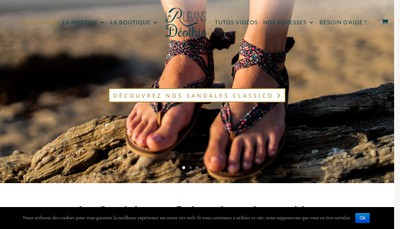 Site internet de Les Rubans de Deothie