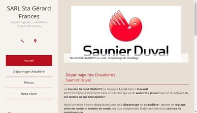 Site internet de Saunier Duval