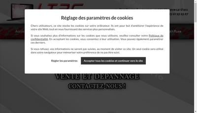 Site internet de Ltpc Informatique
