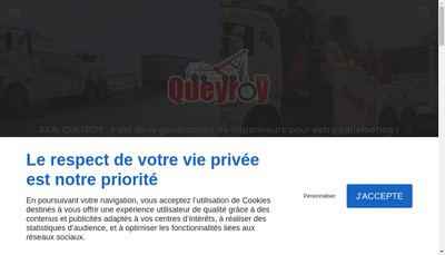 Site internet de Queyroy SARL