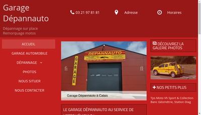 Site internet de Garage Depannauto