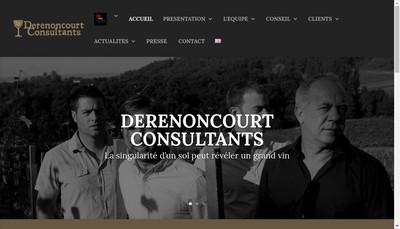 Site internet de SARL Stephane Derenoncourt