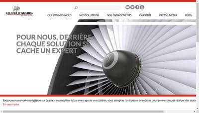 Site internet de Derichebourg Multiservices
