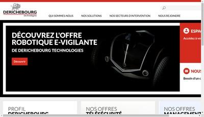 Site internet de Derichebourg Technologies