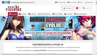 Site internet de Derive Figurine