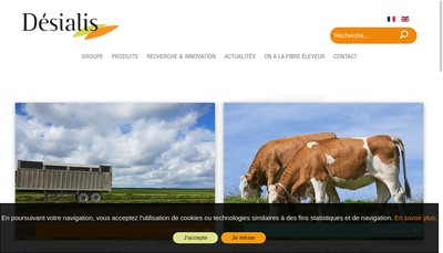 Site internet de Desialis