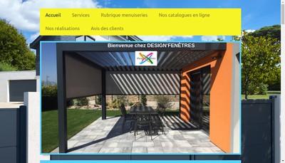 Site internet de Design'Fenetres