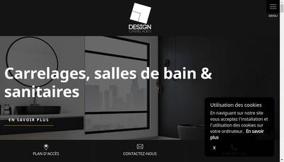 Site internet de Design Carrelages