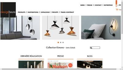 Site internet de Designheure