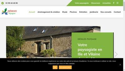 Site internet de Les Cles du Jardin