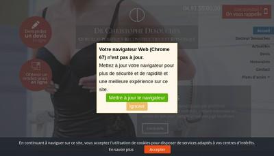Site internet de Dr Christophe Desouches