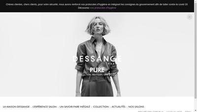 Site internet de Dessange