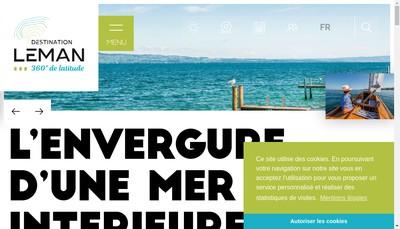 Site internet de Nauti Sport du Leman - Chantiers Na