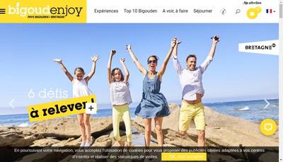 Site internet de Destination Pays Bigouden Sud