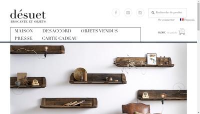 Site internet de Desuet