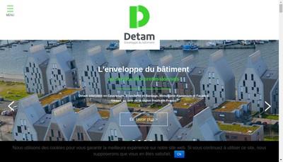 Site internet de Detam