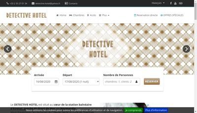 Site internet de Detective Hotel