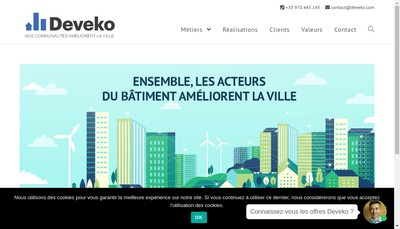 Site internet de Deveko