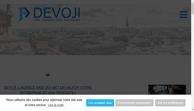 Site internet de Devoji