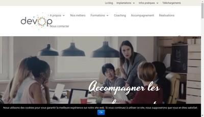 Site internet de Devop