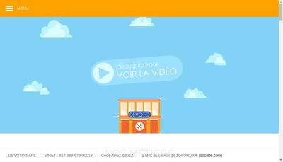Site internet de Devoto