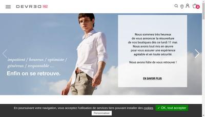 Site internet de Devred