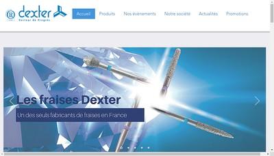 Site internet de Dexter