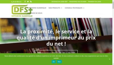 Site internet de Dfs+