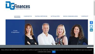 Site internet de Cabinet Dominique Gallizi Finance