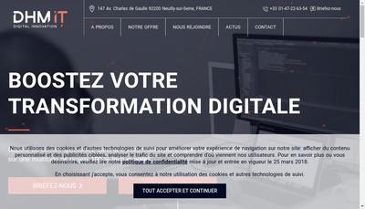 Site internet de Dhm It