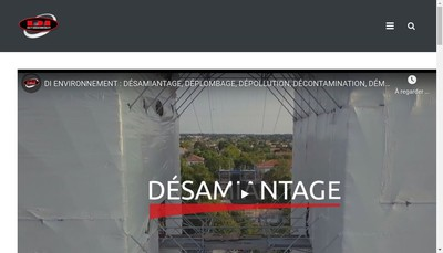 Site internet de Dauphine Isolation Environ- Rhone Assain