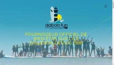 Site internet de Diabolo Fun