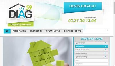 Site internet de Diag 59