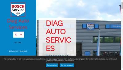 Site internet de Diag Auto Service