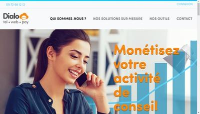 Site internet de Dialotel