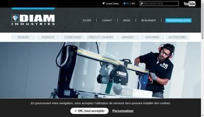 Site internet de Diam Industries