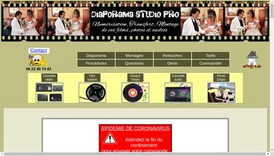 Site internet de Diaporama Studio Pro