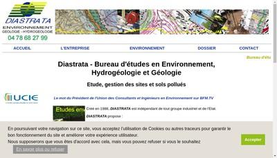 Site internet de Diastrata Environnement
