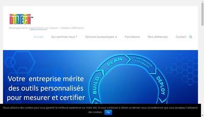 Site internet de Diatech