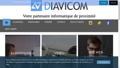 Site internet de Diavicom