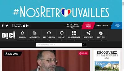 Site internet de Dici Prod