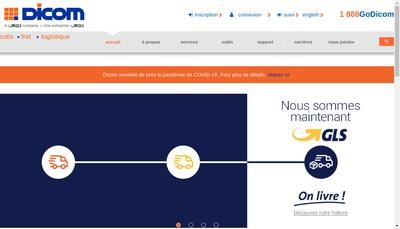 Site internet de Dicom