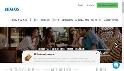 Site internet de Diaxis Partners