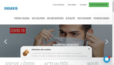 Site internet de Didaxis Management - Didaxis Consulting - Didaxis Group